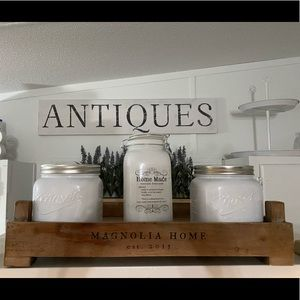 Magnolia Home by Joanna Gaines Harvest Crate Tray